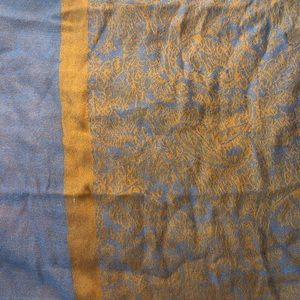 COPY - Gold and blue scarf
